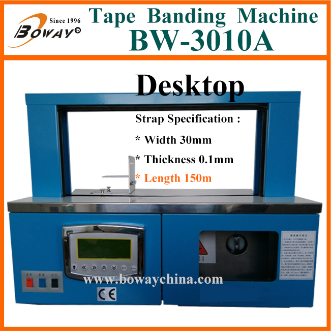 Vertical OPP film and Paper Tape Automatic strapping machine price
