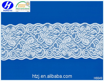 China Wholesale Elastic Lace Trim Sewing Accessories for Lingerie Women