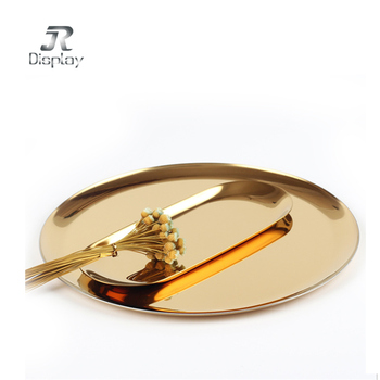 Rectangular Shape Black Cocktail Tray Colored Copper iron Serving Tray Copper iron Champagne Tray