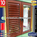 Aluminum window louver for house