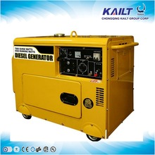 Air cooled silent diesel generator used diesel generator for sale