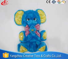 Wholesale giant elephant plush toy skin/unstuffed plush animal elephant skins plush toy skin