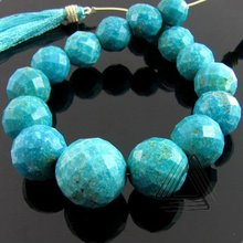 Turquoise Round Shape Briolette Strands, Natural Wholesale Semi Precious & Precious Color Gemstone, Loose Beads