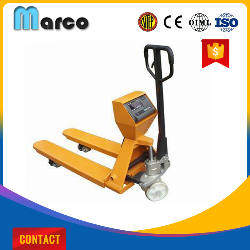 Marco 2500kg Hydraulic Pallet Scales Manufacturer