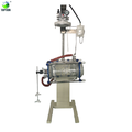 TOPTION Elevating & Rotary Jacketed Glass Reactor 10L~100L
