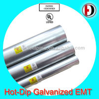 steel pipe manufacturer with ul approval EMT