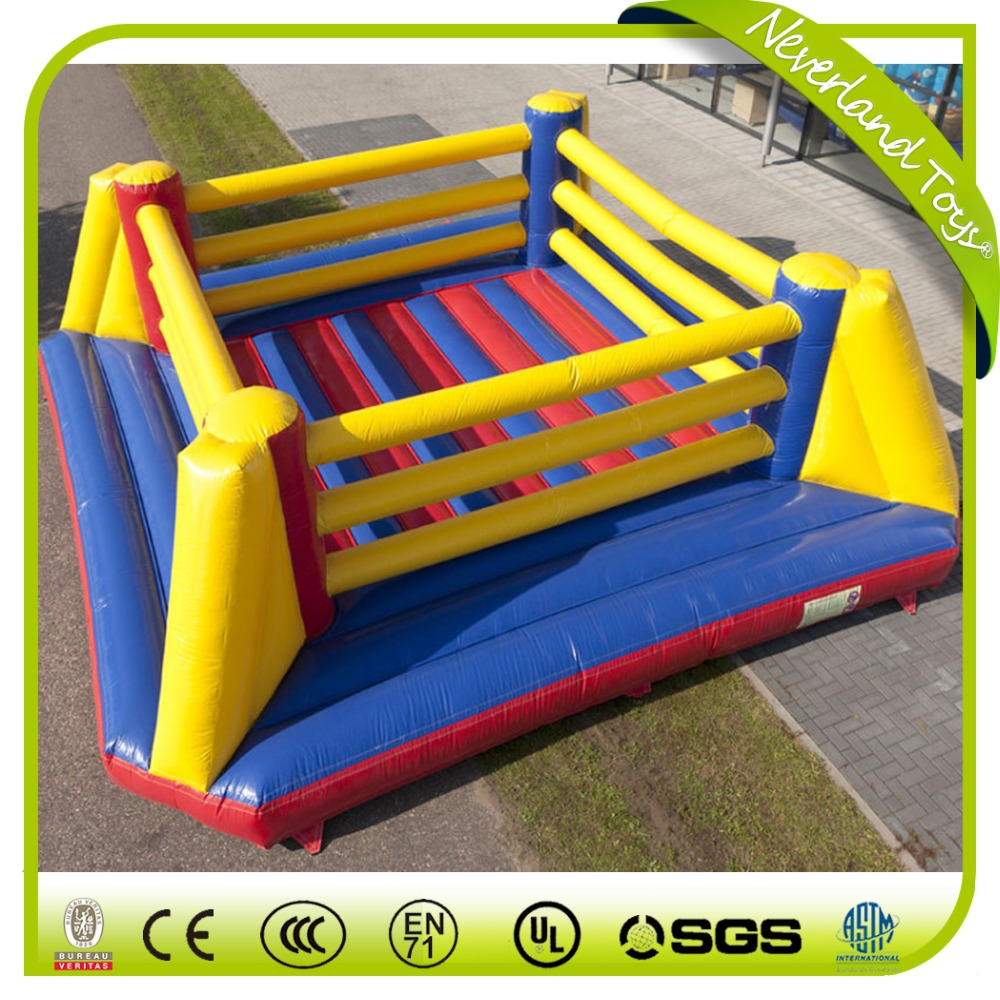 Factory price cheap inflatable wrestling ring for kids