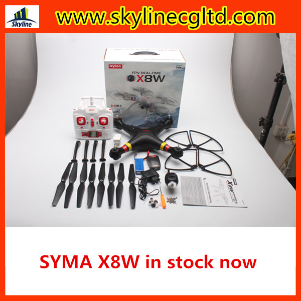 In stock Syma X8w drone with HD camera with 6-axis gyro