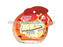 Candy packaging with special shape mould and full color printed