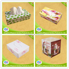 Fine Ultra Soft Disposable Box Facial Tissue