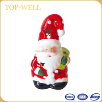 Morden christmas indoor decoration of Santa Claus shaped made in china