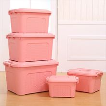 China Manufacture best price plastic big lots storage container box plastik