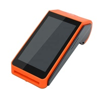 Android 4G Handheld POS Terminal With Thermal printer Barcode Scanner mobile Payment solution