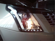 DLAND SRX ANGEL EYE COMPLETE HEADLIGHT, WITH BI-XENON PROJECTOR , FOR CADILLAC