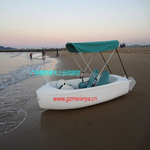 Guangzhou factory outler pedal boat, fishing boat, water pedal boat(M-017)