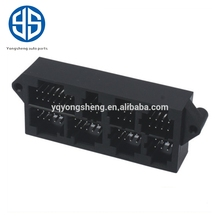 yongsheng manufactured male motorcycle parts automotive 66pin ECU connector