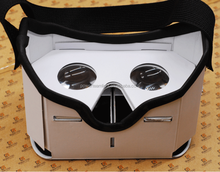 New Google cardboard version 2.0 Google Cardboard 2 virtual reality vr google cardboard 3D glasses