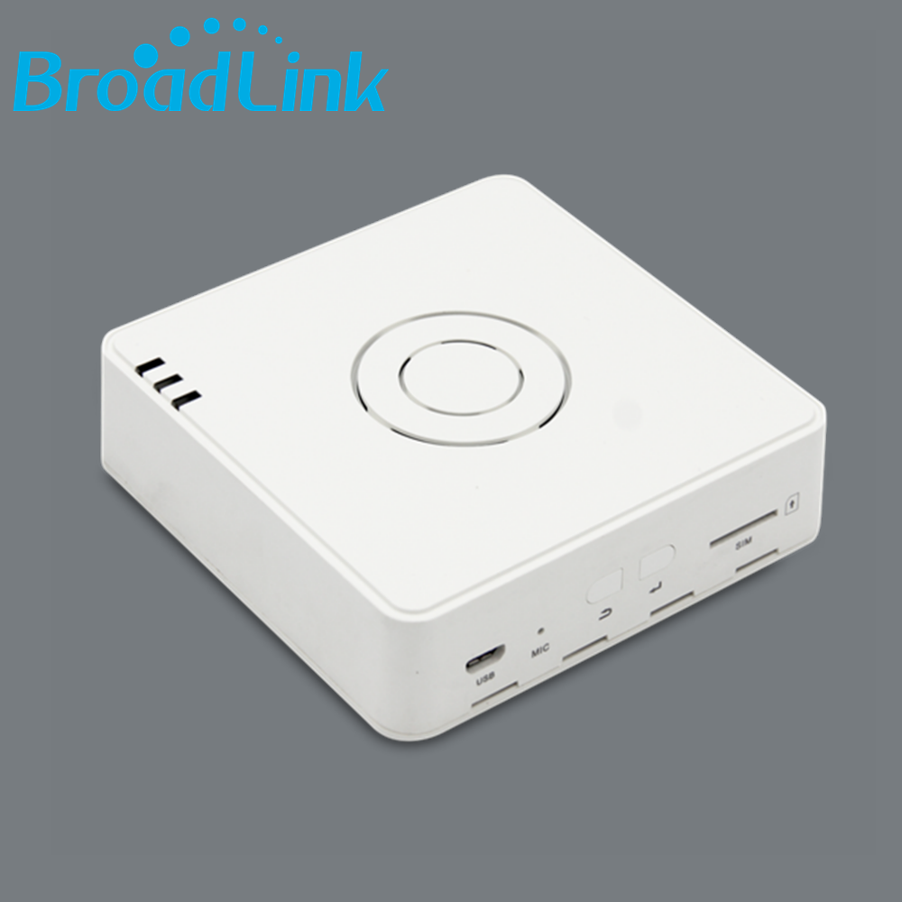 BroadLink S2 smartphone app wifi remote controlled iot home automation smart home alarm system for residence office and hotel