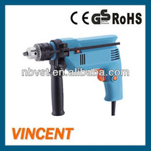 300~500W Power Tools Electric Impact Drill with 13mm Drilling Capacity