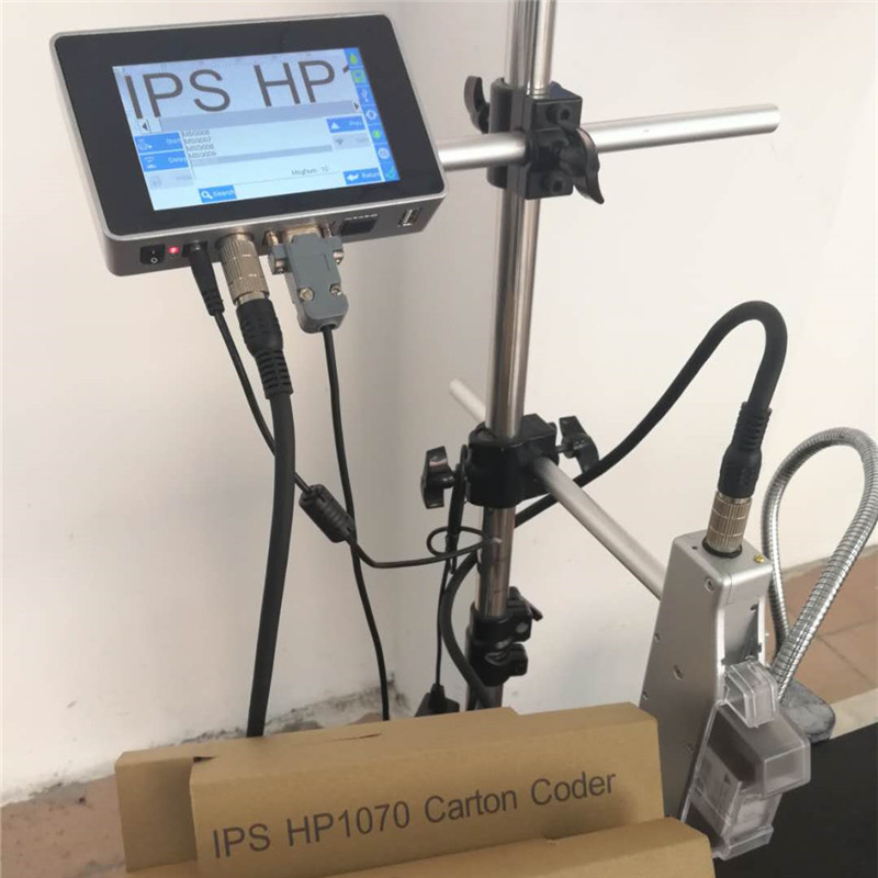 Ink jet Carton coder / Batch code printer / inkjet coding machine HP 2.5 technology