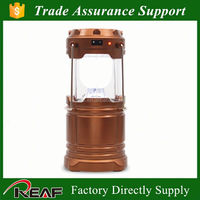 Rechargeable telescopic kerosene lantern with power bank, USB for mobile charging