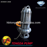 Dewatering high head low flow submersible pump