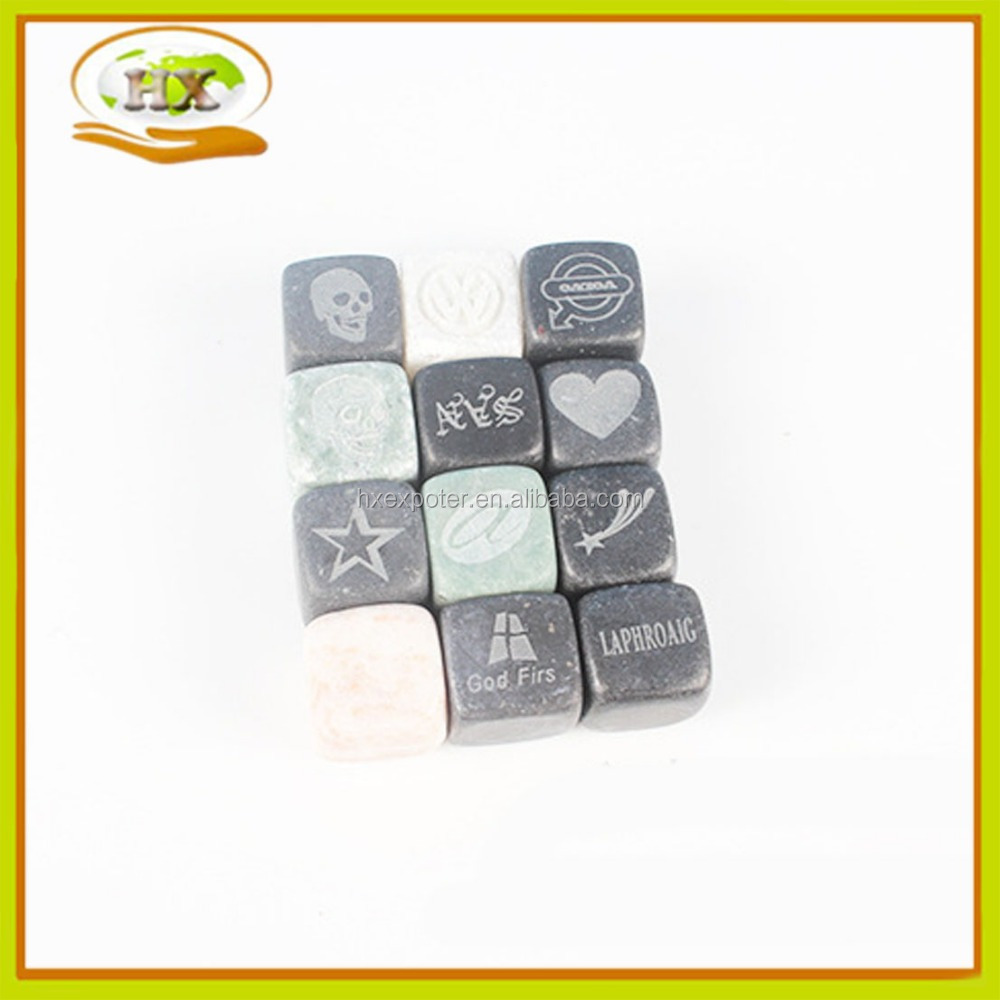 Whisky Stones With Custom Designs
