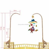 Plush Carousel Music Baby Bed Hanging Toy