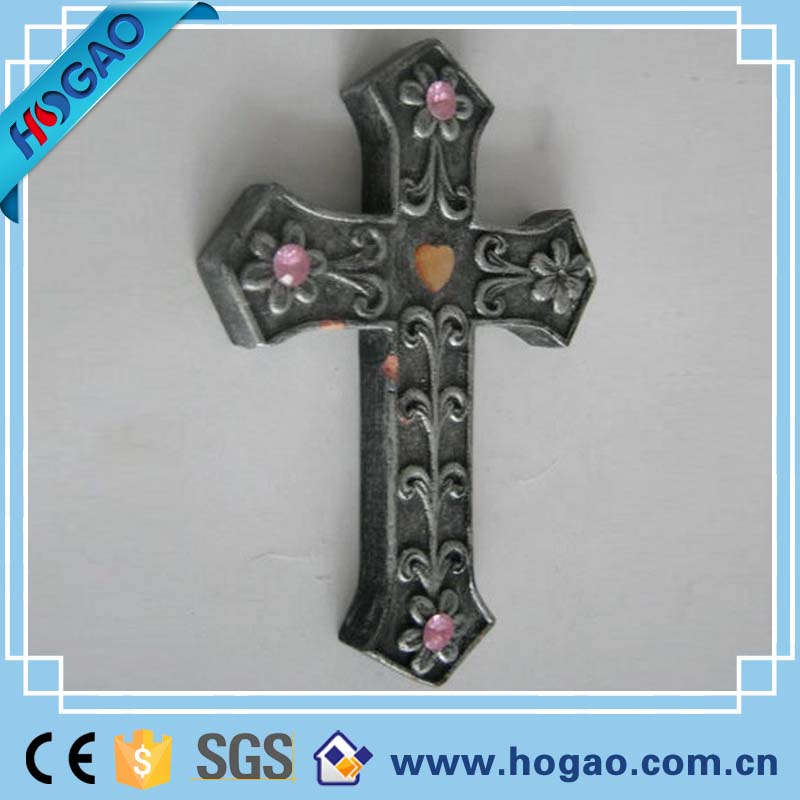 Hot Selling Religion and Cross Figurine Resin Crafts