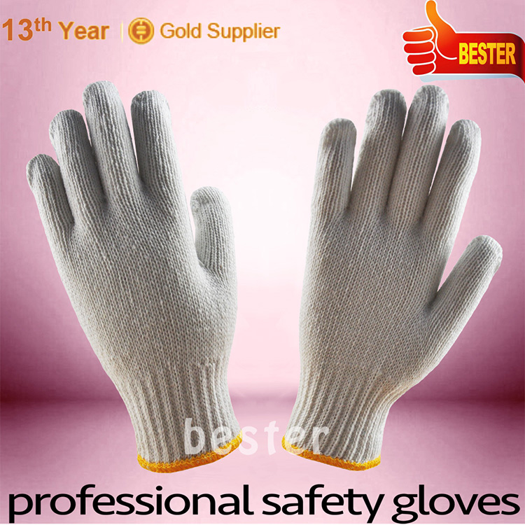 New Wholesale Best Selling white knitted hat gloves and scarf set