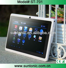 Cheap and hotselling 7inch new q88 tablet pc with HD 1024*600 screen