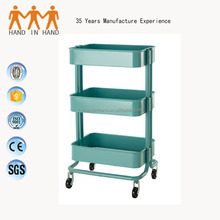 Best price homeful kitchen trolley with 4 trolley wheel