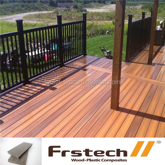 Backyard wpc timber boards, new timber decking for garden yard, wood plastic composte timber boards/deck boards/wpc wood