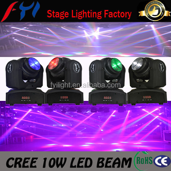 Professional new cheap 2 eyes beam effect magic led mini moving beam light