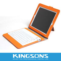 Hot selling tablet pc leather case with keyboard
