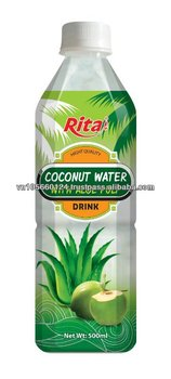 OEM 500ml pet bottle Coconut Flavor Aloe Vera Juice