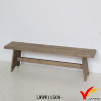 Hand Made Farm Antique Wooden Long Bench Chair