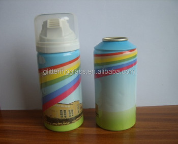 200ml aluminum can with foam actuator