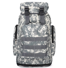 Outdoor Tactical Backpack Military Rucksacks for Camping Hiking and Tekking Black