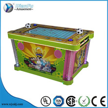 arcade coin operated football tickets Cool world cup football baby redemption game machine for sale
