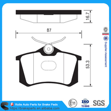High Quality DB1449 GDB1196 MDB1377 Brake Pad Back Plate