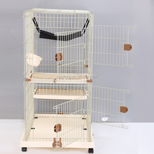 Foldable Wire Pet Cage Durable Pet Carrier Wire Mesh Pet Product Cat Cages