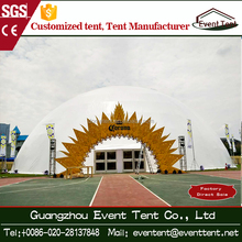 Supply various igloo dome tent / geodesic dome circus tent from 3m to 100m