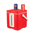 2018 red USB cooler box plastic ice buckets for party