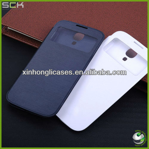 Flip leather case for samsung galaxy s 4