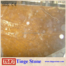 Golden Marble Tiles With White Veins,Brown Marble For Decoration.