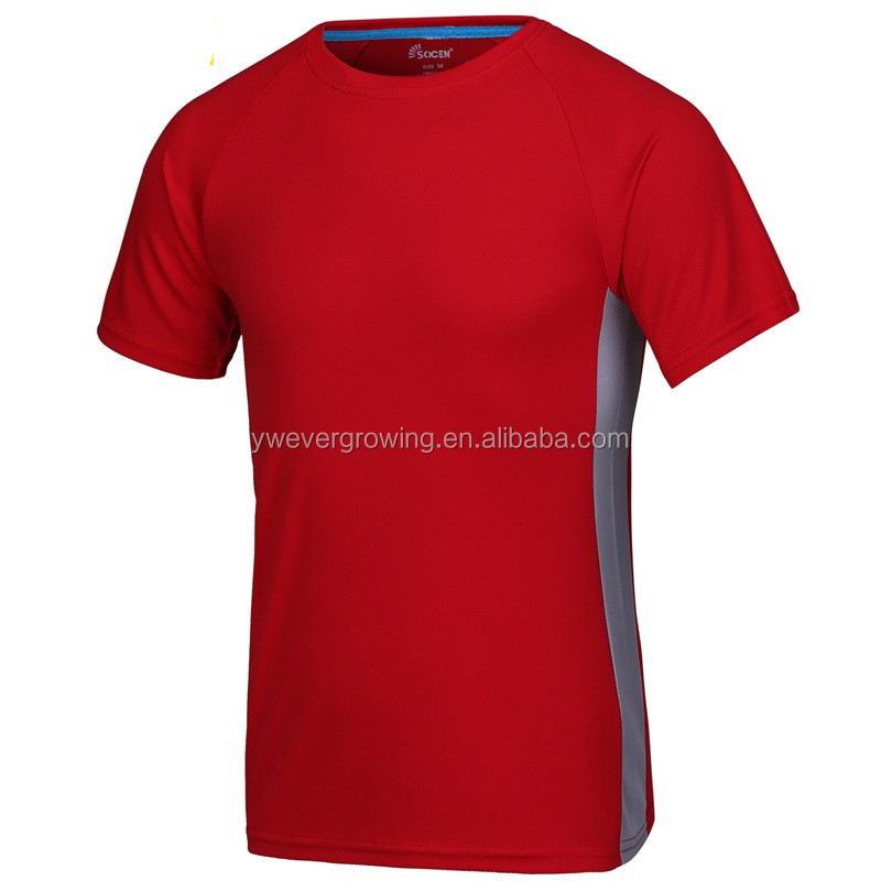 High quality custom logo quick dry t shirts blank t shirt for Fast delivery custom t shirts