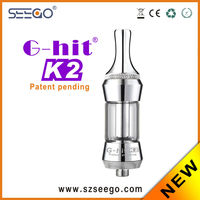 High quality e-cig oil kit Seego G-hit K2 glass spoon pipes