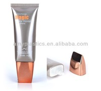 BB & CC & Foundation & Sunblock cream tube with metallicscrew cap,5layer EVOH plastic tube