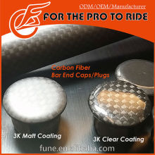 for Road/MTB Handle Bar End Caps/Plugs Carbon